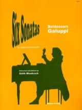6 Sonates Baldassare Galuppi Partition Clavecin - laflutedepan