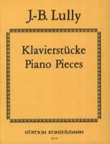 Jean-Baptiste Lully - Pièces Pour Clavecin - Partition - di-arezzo.fr