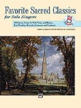 Favorite Sacred Classics. Voix Haute Partition laflutedepan.com