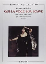 Vincenzo Bellini - Who the Voce Sua Soave. I Puritani - Sheet Music - di-arezzo.co.uk