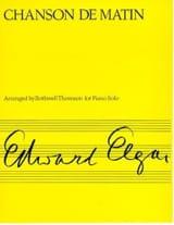 Chanson de Matin Op. 15-2 Edward Elgar Partition laflutedepan.com