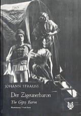 Johann fils Strauss - Der Zigeunerbaron - Partition - di-arezzo.fr
