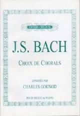Jean-Sébastien Bach - Choix De Chorals - Partition - di-arezzo.fr