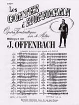 Jacques Offenbach - Barcarolle. Hoffmann Tales. No. 13 Bis - Sheet Music - di-arezzo.co.uk