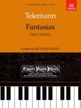 Georg Philipp Telemann - Fantaisies 1ère Douzaine - Partition - di-arezzo.fr