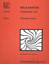 Danse Slovaque Bela Bartok Partition Piano - laflutedepan.com