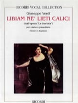 VERDI - Brindisi: Libiam Ne Liete. Traviata - Sheet Music - di-arezzo.co.uk