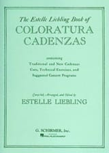 Coloratura Cadenzas. Partition Opéras - laflutedepan.com
