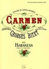 Georges Bizet - L'amour Est un Oiseau Rebelle. Carmen - Partition - di-arezzo.fr