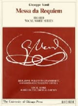VERDI - Requiem. Critical Edition - Sheet Music - di-arezzo.com