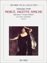 Merce, Dilette Amiche. I Vespri Siciliani - laflutedepan.com