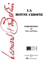 La Bonne Cuisine Leonard Bernstein Partition laflutedepan.com
