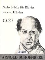 Arnold Schoenberg - 6 Pièces. 4 Mains - Partition - di-arezzo.fr
