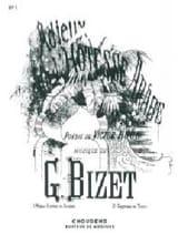 Georges Bizet - Adieux de L'hôtesse Arabe. Mezzo - Partition - di-arezzo.fr