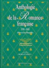 Anthologie Romance Française de 1795-1815 Partition laflutedepan.com