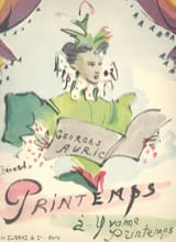 Georges Auric - Printemps - Partition - di-arezzo.fr