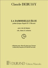 DEBUSSY - The Damoiselle Elue - Sheet Music - di-arezzo.co.uk
