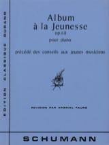 Robert Schumann - Album A la Jeunesse Opus 68 - Partition - di-arezzo.fr