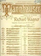 Romance de l'étoile. Tannhauser WAGNER Partition Opéras - laflutedepan