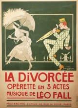 Leo Fall - The pursuit. Divorce - Sheet Music - di-arezzo.co.uk