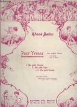 Petite Valse Rhené-Baton Partition Piano - laflutedepan.com