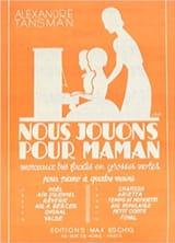Noël Alexandre Tansman Partition Piano - laflutedepan.com