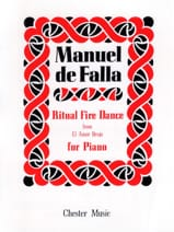 Danse Rituelle Du Feu Manuel de Falla Partition laflutedepan.com