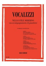 - Vocalises In Modern Style 2nd Series. - Sheet Music - di-arezzo.com