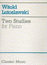 2 Etudes Witold Lutoslawski Partition Piano - laflutedepan.com