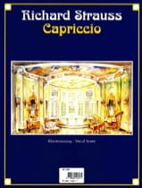Richard Strauss - Capriccio Opus 85 - Partition - di-arezzo.fr