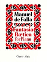 Fantasia Beatica DE FALLA Partition Piano - laflutedepan