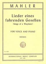 Gustav Mahler - Lieder Eines Fahrenden Gesellen. Voz media - Partitura - di-arezzo.es