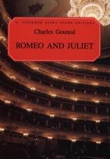 Romeo et Juliette Charles Gounod Partition Opéras - laflutedepan.com