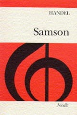 HAENDEL - Samson - Sheet Music - di-arezzo.co.uk