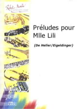 Stephen Heller - Preludes for Miss Lili Opus 119 - Sheet Music - di-arezzo.co.uk