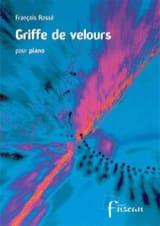 Griffe De Velours - François Rossé - Partition - laflutedepan.com