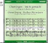 Messiah. CD Basse HAENDEL Partition Chœur - laflutedepan.com