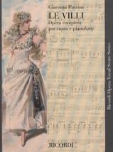 Giacomo Puccini - The Villi - Sheet Music - di-arezzo.co.uk