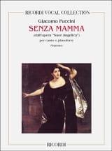 Senza Mamma. Suor Angelica Giacomo Puccini Partition laflutedepan.com