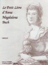 Le Petit Livre D' Anna Magdalena BACH Partition laflutedepan.com