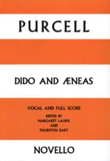 Henry Purcell - Dido and Aeneas - Sheet Music - di-arezzo.com
