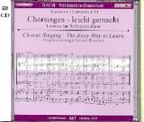 Oratorio de Noël 2 CD Alto BACH Partition Chœur - laflutedepan.com