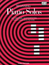 Beginning Piano Solos Partition Piano - laflutedepan.com