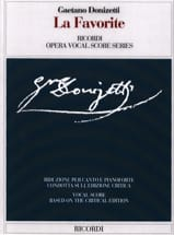 Gaetano Donizetti - The Favorite. Critical edition. - Sheet Music - di-arezzo.com