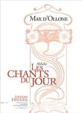 Max d' Ollone - Les Chants Du Jour - Partition - di-arezzo.fr