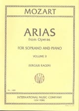 MOZART - 40 Arias from Operas Soprano Volume 2 - Partition - di-arezzo.ch
