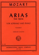 MOZART - 40 Arias from Opere Soprano Volume 1 - Partitura - di-arezzo.it