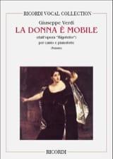 Giuseppe Verdi - La Donna E Mobile. Rigoletto - Partition - di-arezzo.fr