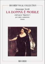 La Donna E Mobile. Rigoletto Giuseppe Verdi Partition laflutedepan.com