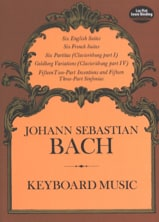 Keyboard Music BACH Partition Piano - laflutedepan.com